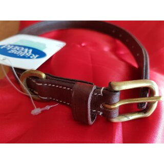 Hundehalsband Riding World  ?Surpiqué Braun  50cm